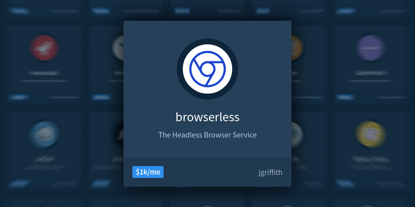 How I've Grown My Headless Browser Business to $1,000/mo