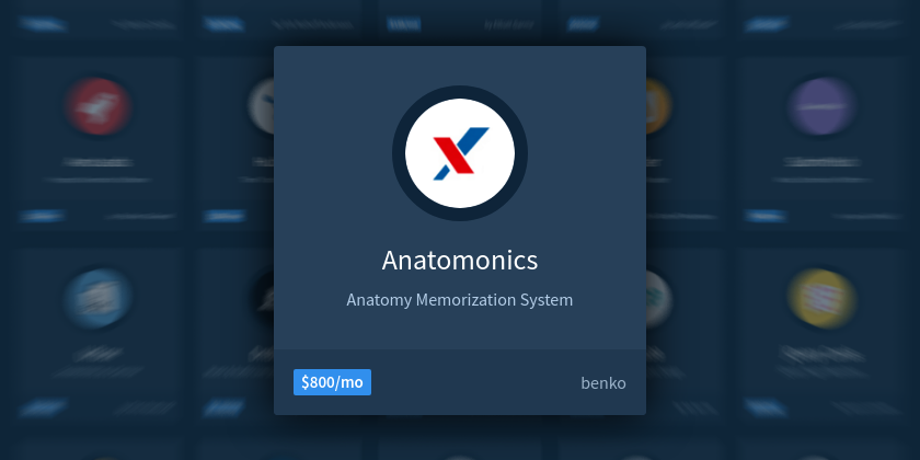Building a Profitable Tool for Memorizing Human Anatomy - Indie Hackers