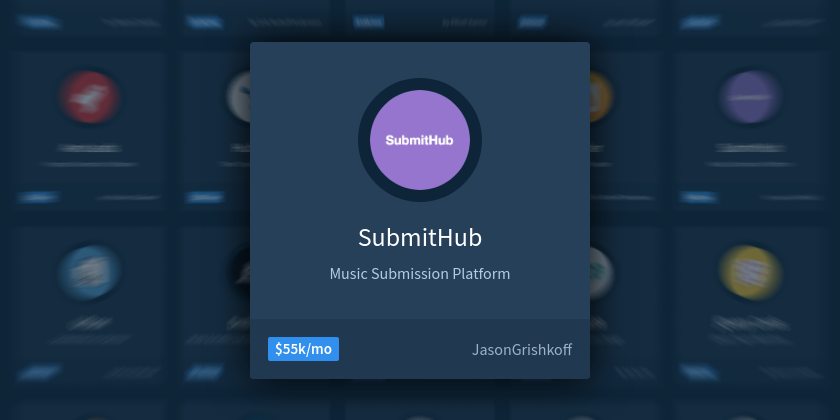 Building a $55,000/mo SaaS Business Promoting Artists' Music - Indie