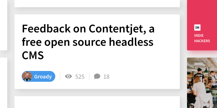 Feedback on Contentjet, a free open source headless CMS
