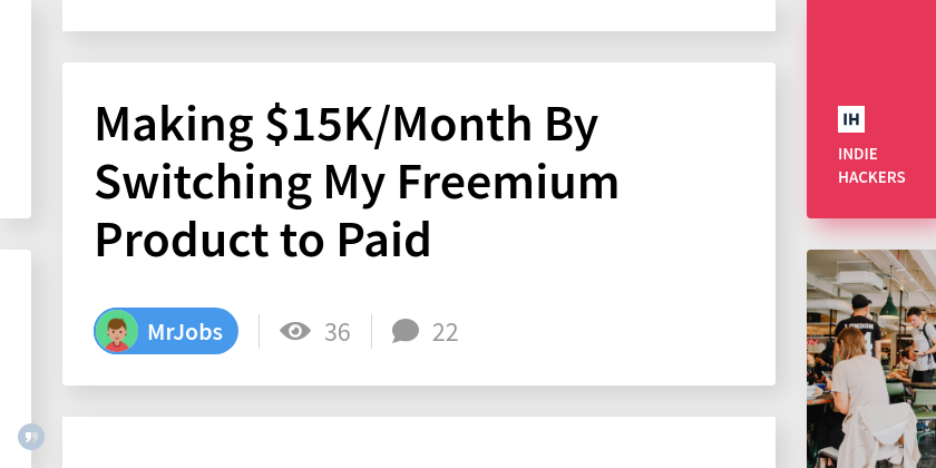 Making $15K/Month By Switching My Freemium Product to Paid