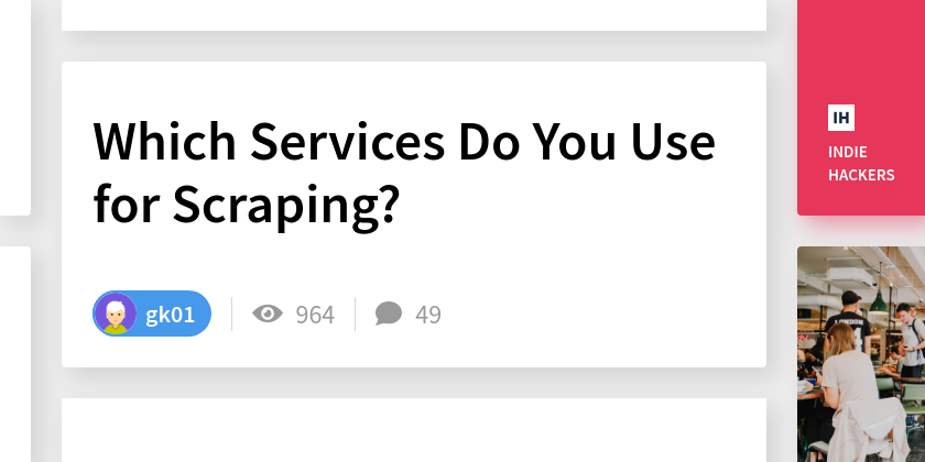 Which Services Do You Use for Scraping?